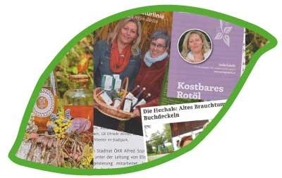 Eunike Grahofer geht auf Kräuterreisen und nimmt Sie zu den Geheimplätzen mit