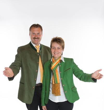 Willi Meller und Martina Rieder