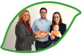 Eier, Eierlikör, Leinoel vom Biohof