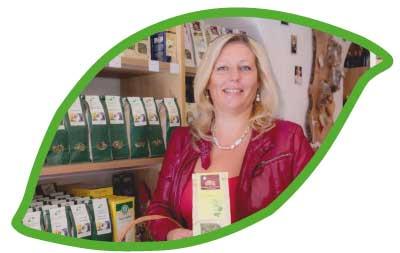 Eunike Grahofer schreibt Buecher, haelt Vortraege und beraet Sie in Ihrem Naturladen in Waidhofen an der Thaya