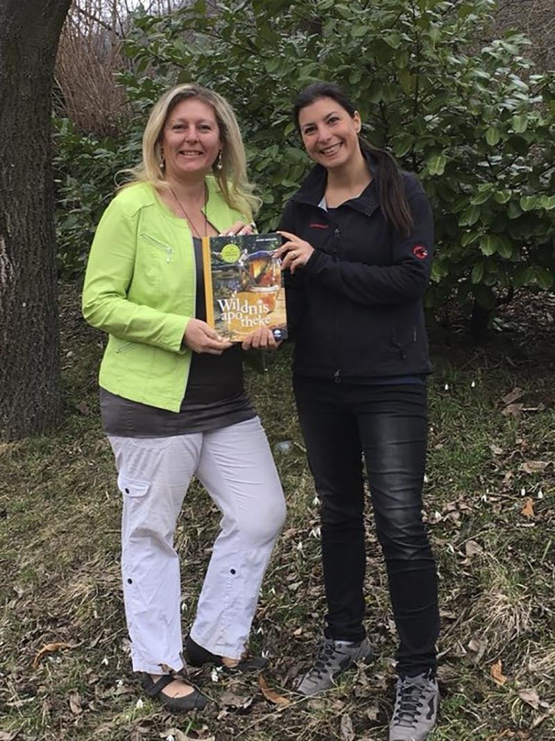 Eunike Grahofer und Jenny Frank zeigen neues Buch