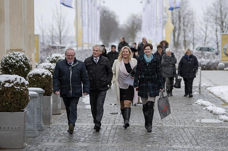 Auf zur Übergabe des Vorsorgepreises Europäische Regionen 2018 Niederösterreich