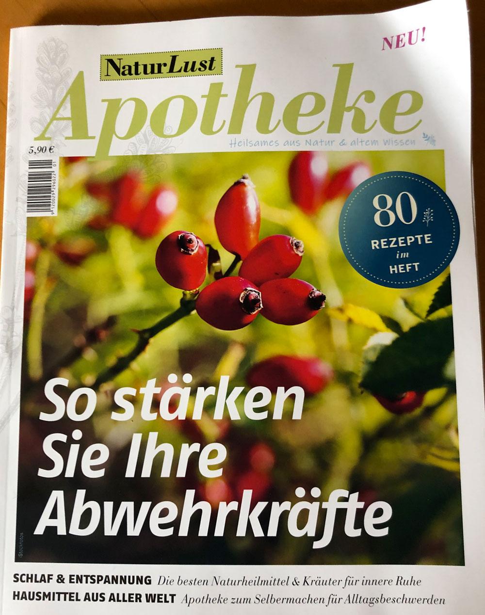 Titelblatt NaturLust Apotheke