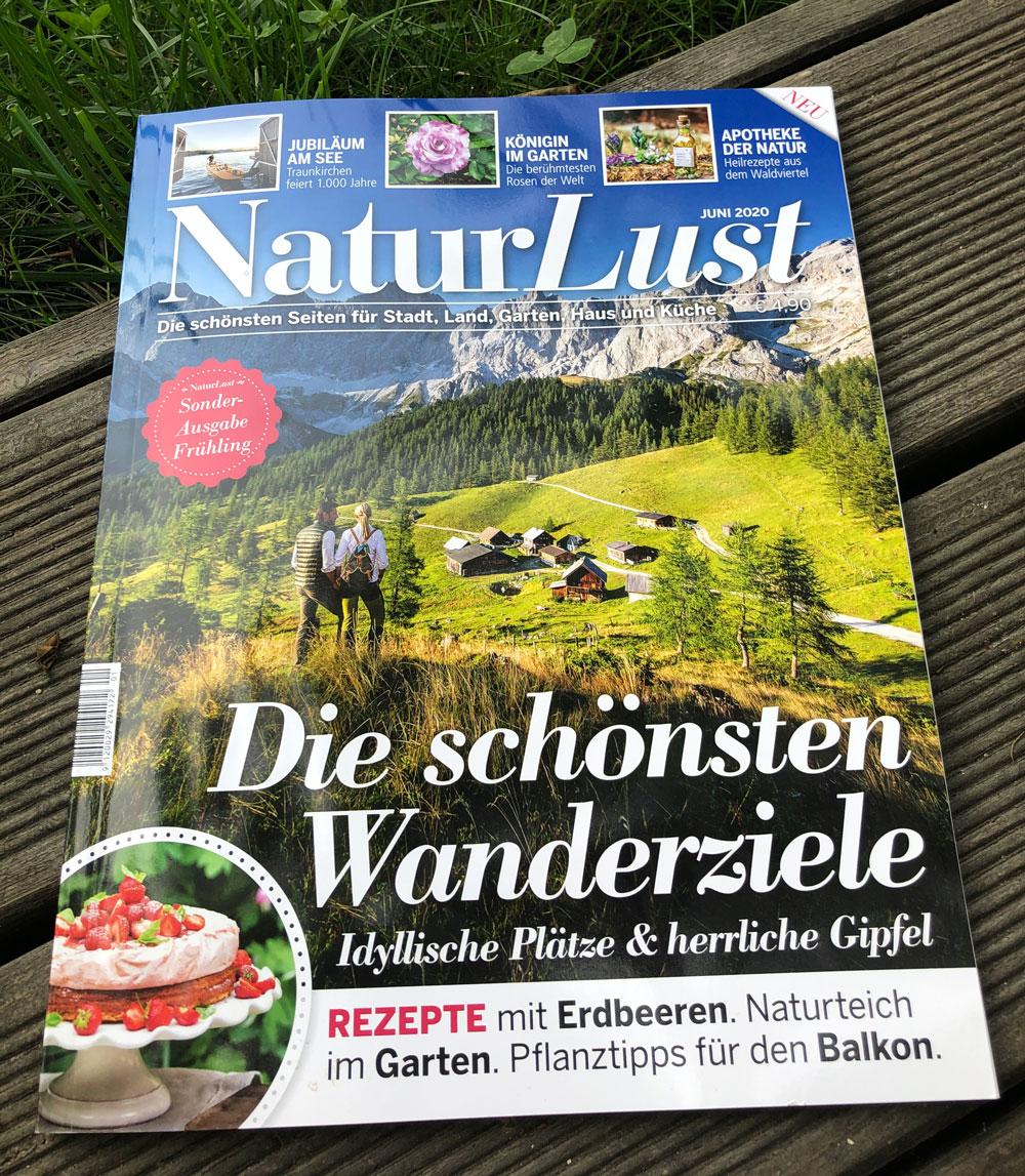 Titelblatt Sonderausgabe Naturlust Fruehling 2020